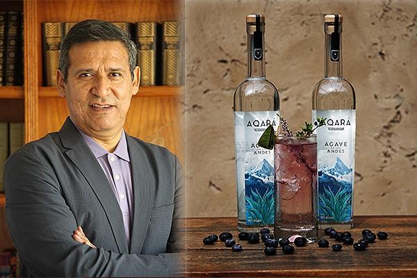 Marco Suárez y su destilado de agave creado en Caraz