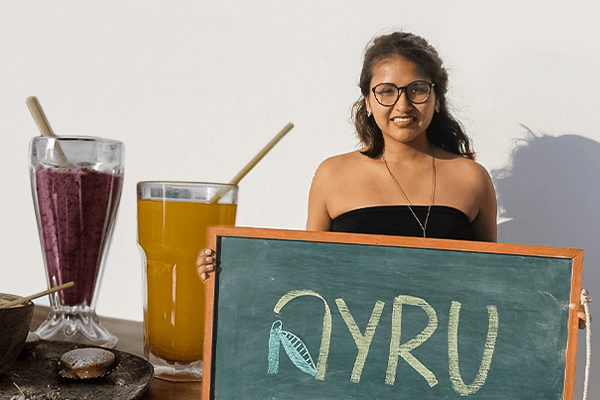 Anyela Gómez y sus sorbetes orgánicos Made in Perú