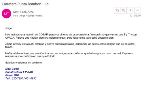 Carretera Punta Bombom 1