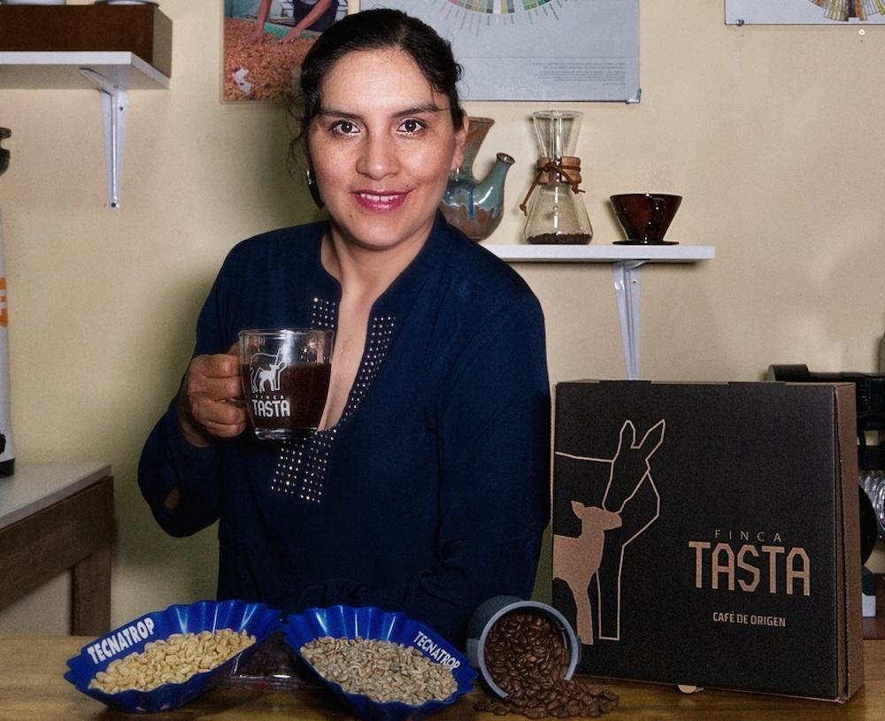 Edith Meza, la emprendedora que quiere conquistar el mundo con una taza de café