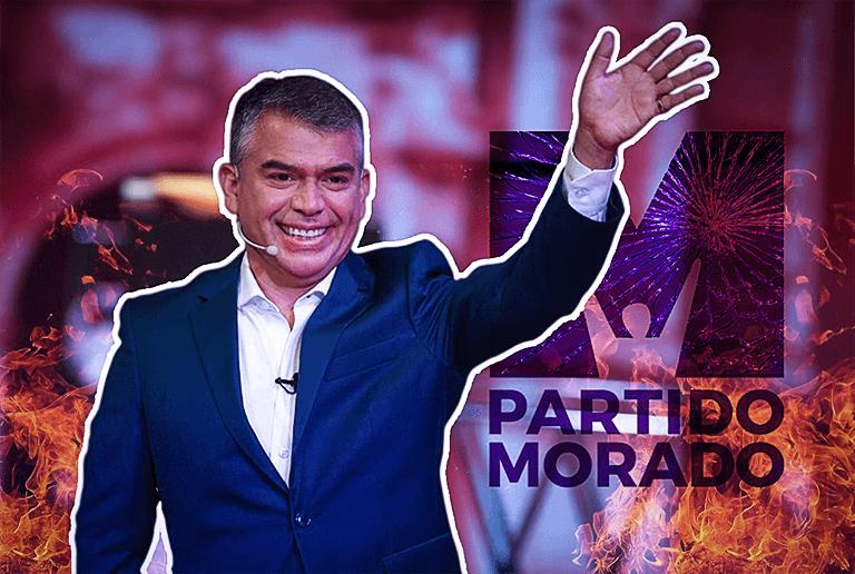 Grietas en el Partido Morado: militantes regionales pedirían la cabeza de Guzmán