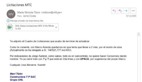 Licitaciones MTC