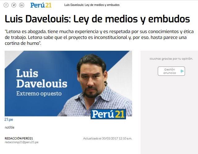 Luis Davelouis