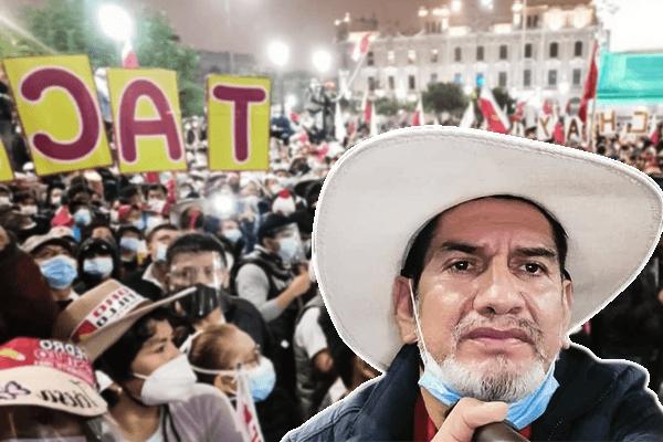 """Marino Flores, dirigente rondero: """"Si hasta el 22 [de julio] vemos que no hay intención de proclamar a Castillo, estamos preparando un paro nacional indefinido"""""""