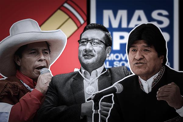 Pedro Castillo y Evo Morales