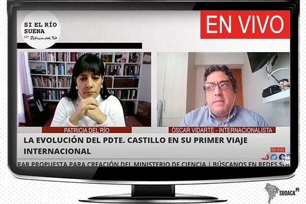 Óscar Vidarte: Cuando el presidente llegue, la gente le pedirá ser más claro