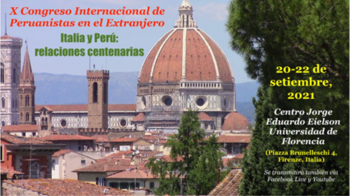 X Congreso Internacional de peruanistas en el extranjero