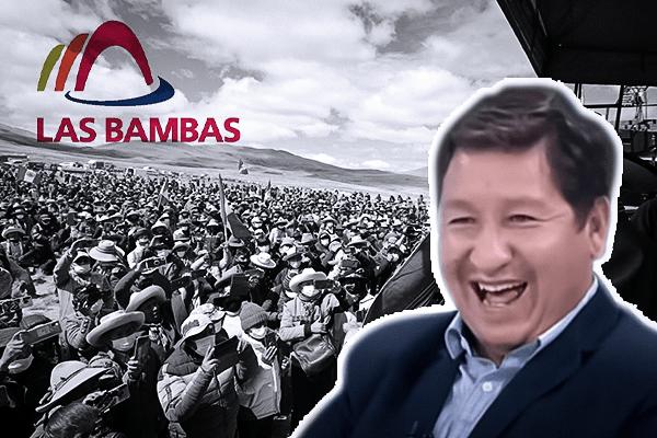 Las Bambas: Contra las cuerdas el indiferente Gabinete Bellido