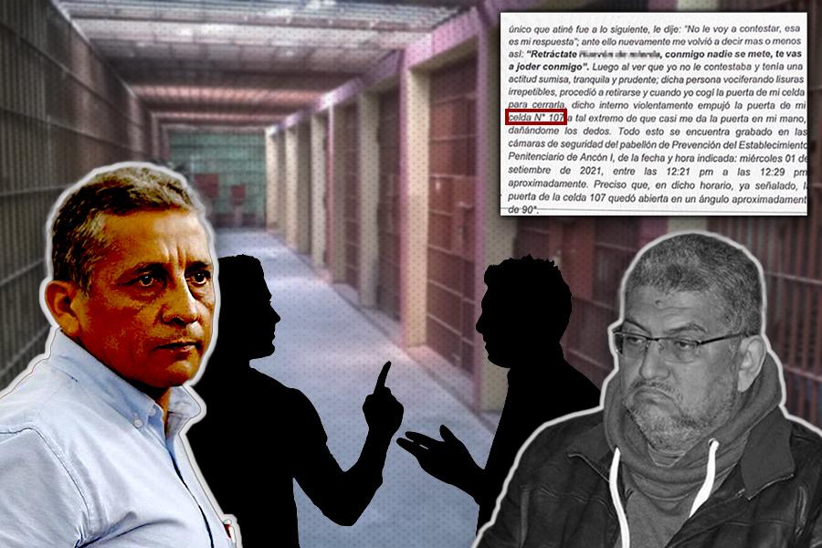 Amenaza y traición en la celda 107