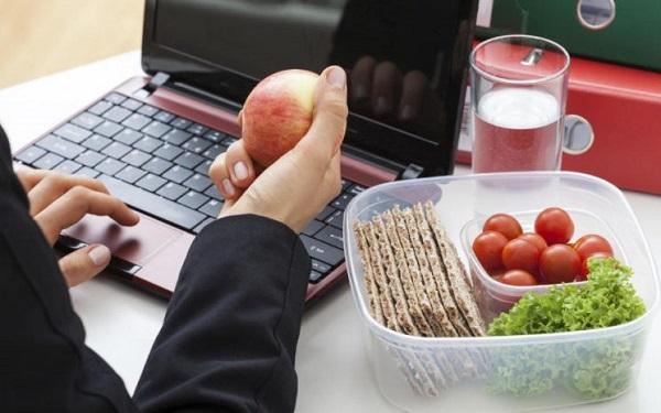 comida sana estres