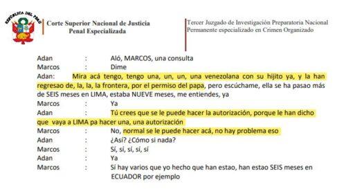 documentos a venezolana