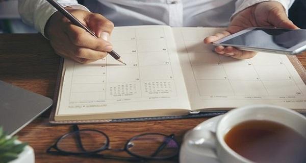 Beneficios de crearte un horario fijo