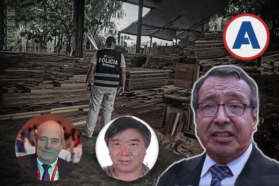 Mega investigación de tráfico de madera en Madre de Dios alcanza al gobernador regional