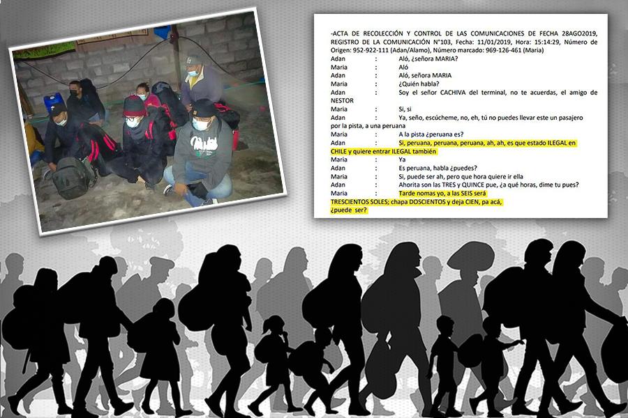 Muerte y corrupción: el tráfico de migrantes entre Chile y el Perú