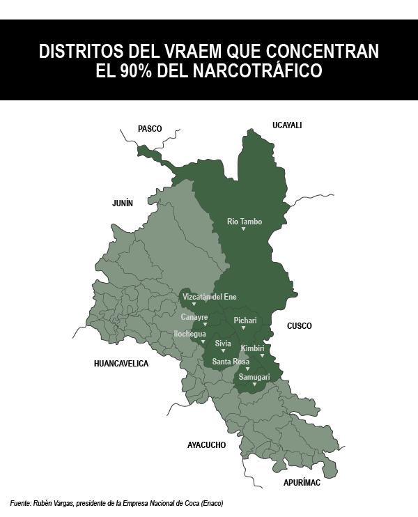 vraem narcotrafico mapa