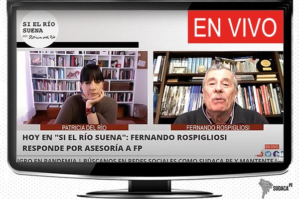 Fernando Rospigliosi: «Sabía que contrato con Fuerza Popular sería público»