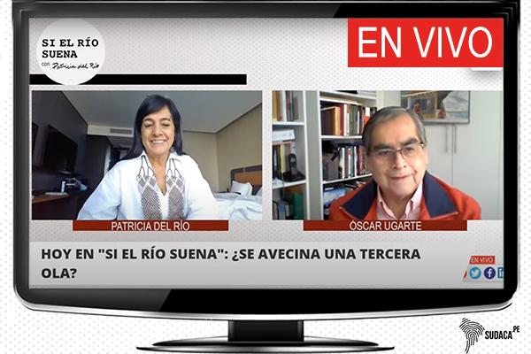 Óscar ugarte y Patricia del Rio